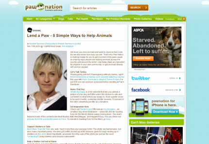 What's My Puppy Featured on Pawnation.com